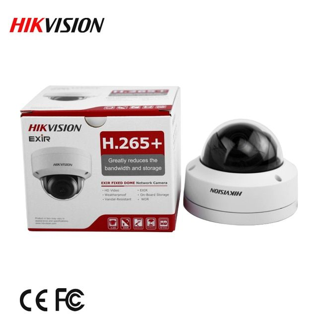 english version Free shipping DS-2CD2185FWD-IS  8MP Network Dome Camera 120dB Wide Dynamic Range H.265 camera