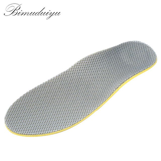Ac Breathable Shock Absorb Pro Arch Support Insole For daily Running Walking Comfort Free Size Unisex Men Women Casual All Match