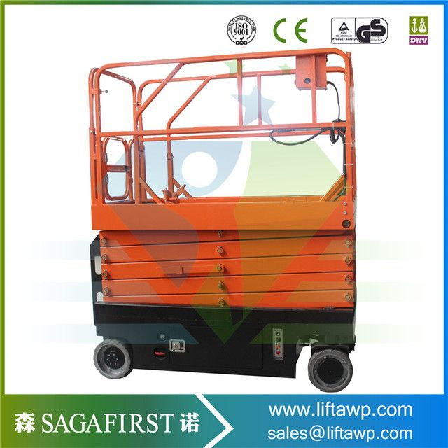 TOWER quality brand battery move and battery lift scissor lift platform with hydraulic systems