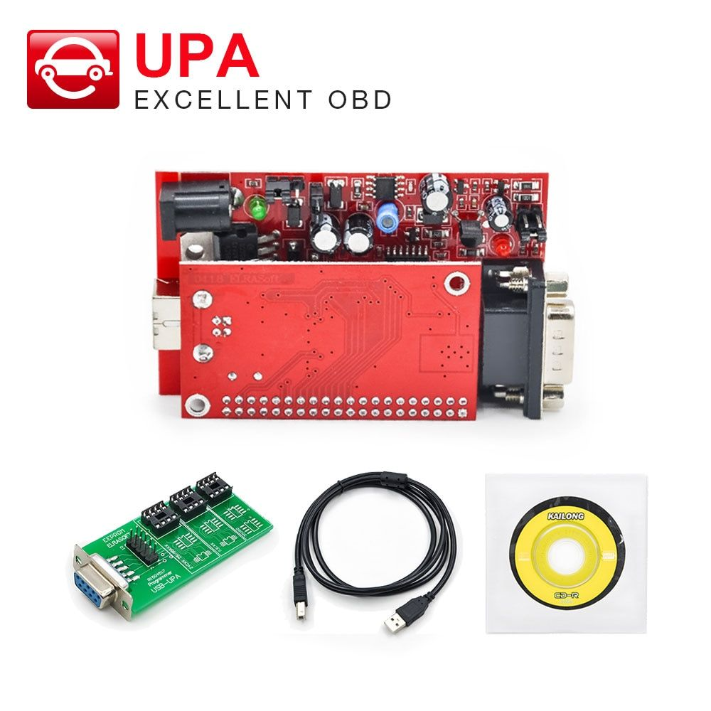 UPA USB V1.3 ECU Programmer Diagnostic tool UPA-USB Programmer UPA main unit simple version /with Full Adapters version optional