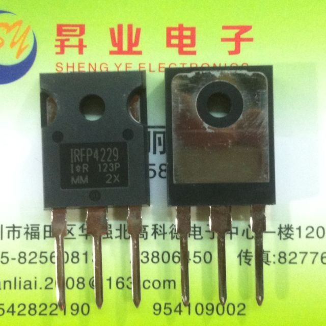 Free shippin 5pcs/lot IRFP4229 250V44A TO247 high-current field-effect transistors original authentic