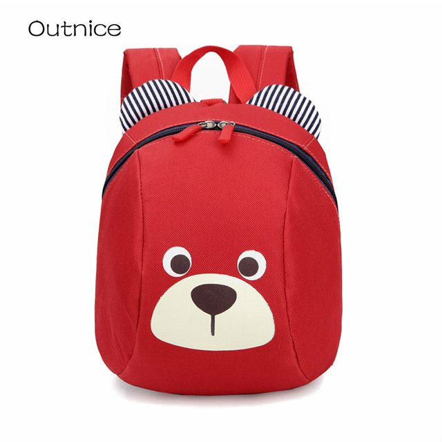 Fashion Animal children school bags Anti-lost kids baby bag mochila infantil escolar kindergarten schoolbag backpack bolsa