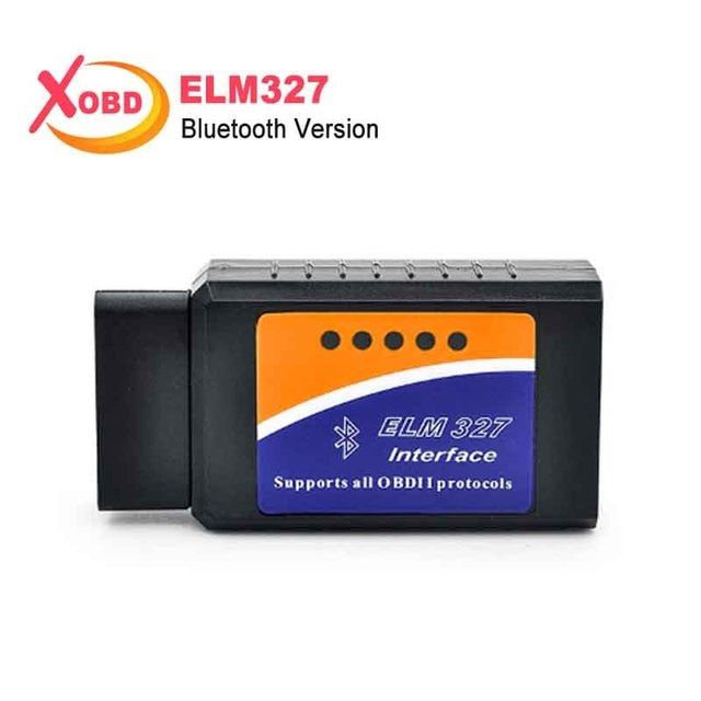 2018 ELM 327 V 2.1 BT adapter Works On Android Torque Elm327 Bluetooth V2.1 Interface OBD2 / OBD II Auto Car Diagnostic-Scanner