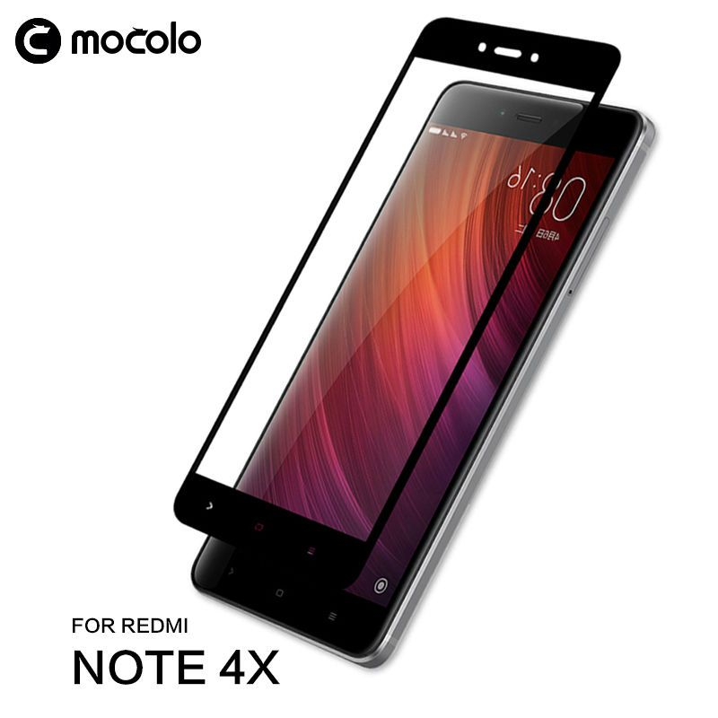Mocolo Full Cover Redmi Note 4X Tempered Glass Protector for Xiaomi  Redmi Note 4 Tempered Glass Hongmi Note 4x Glass Mediatek