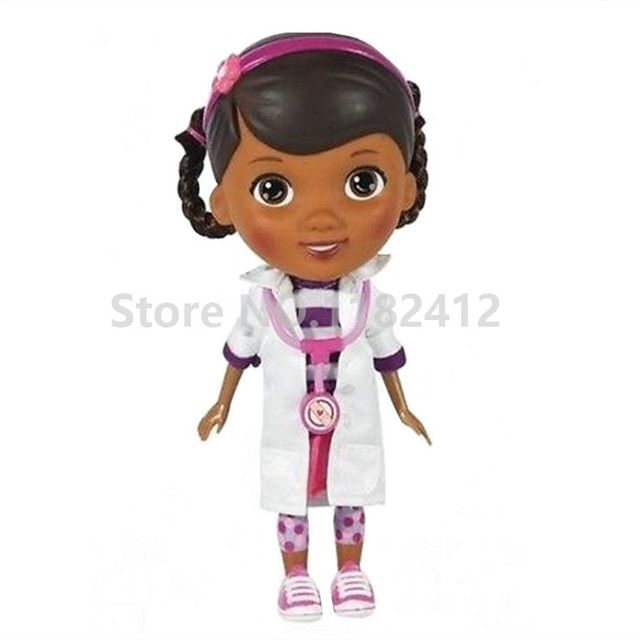 Doc McStuffins Toys Movable Joint Plastic PVC Model 22cm McStuffins Figure Dolls for Girls Christmas Gifts