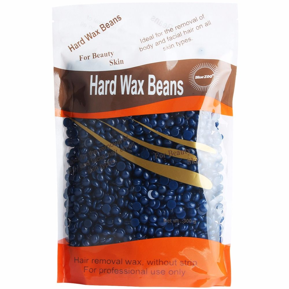 300g Chamomile Taste Depilatory Hot Film Hard Wax beans Pellet Waxing Bikini Hair Removal Wax Body Hair Paperless Wax Beans !
