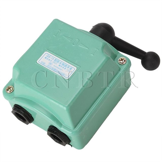 15A 380V Rain Proof Reversing Drum Switch High Current Switching CNBTR