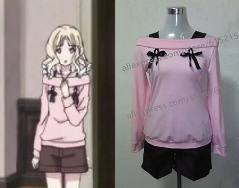 Diabolik Lovers Komori Yui Anime Cosplay Costume Casual Women Girls Halloween Party Costumes
