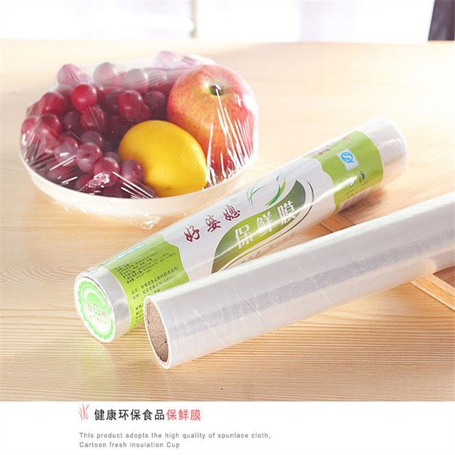 Food Preservation 30cm Slimming Weight Loss Ling Film Cling Film PE Cling film Thin Section Stretch Film Food