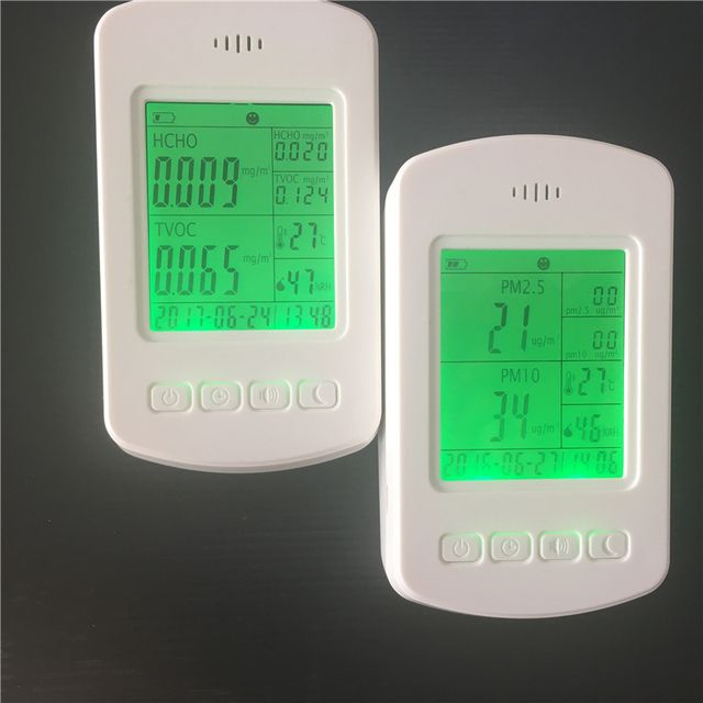 low price formaldehyde meter formaldehyde test PM2.5 pollution detector for smart home use
