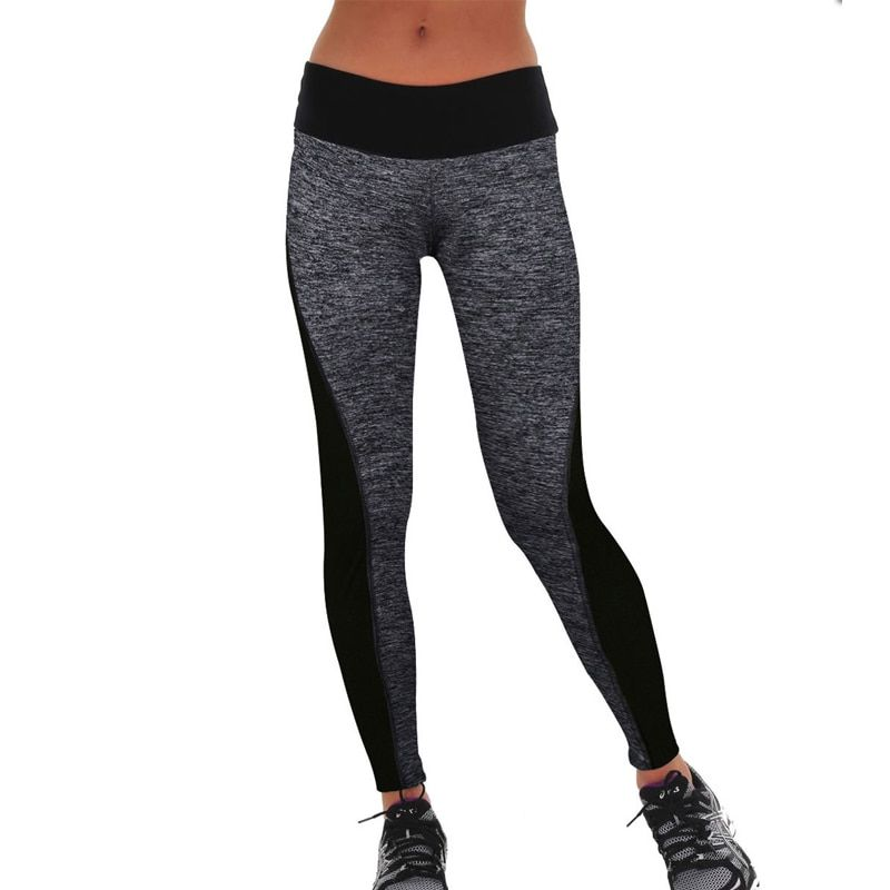 2018 New Womens Pants S-3XL Fashion Sexy High Waist Stretched Clothes Spandex Quick-Drying Womens Leggings Fitness Active Pants