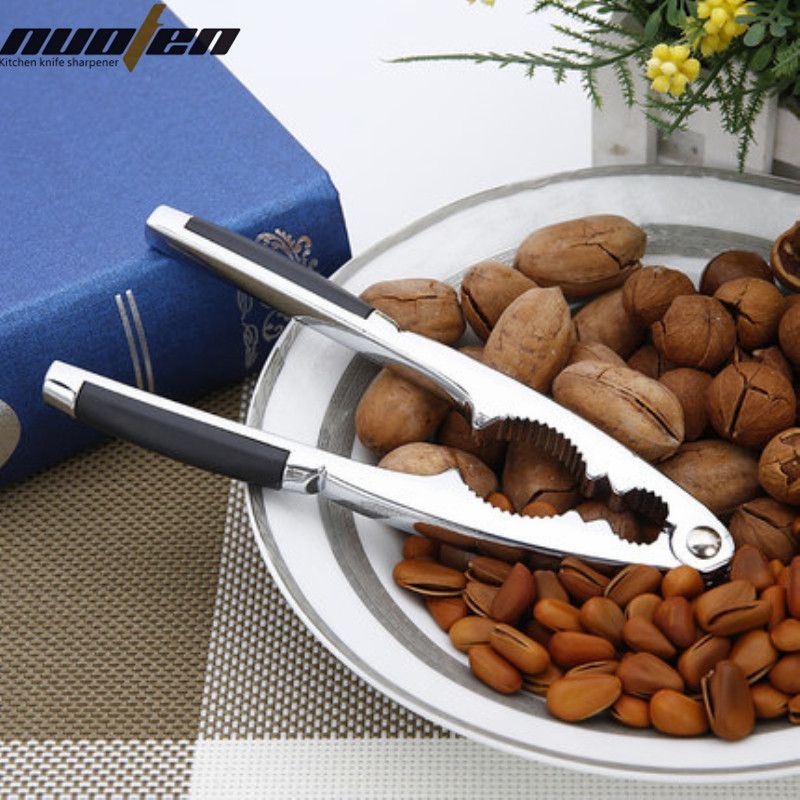 NUOTEN Brand Professional Alloy Nutcrackers Silver Kitchen Tools Walnut Crackers Accesorios de cocina cocina