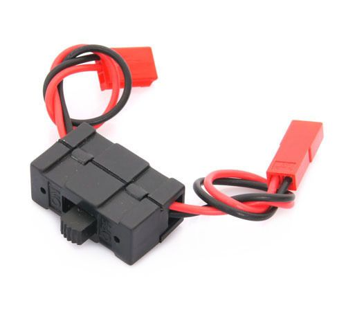 02050 HSP 1/10 Parts On/Off JST Connector Receiver Switch  4WD Nitro Power RC Car Buggy Truck