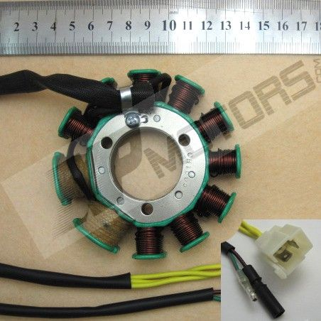 Magneto Stator Plate Ignition for Honda CB125T 150 11 Pole Motos Parts Metal & Plastic Motocycle Accessories