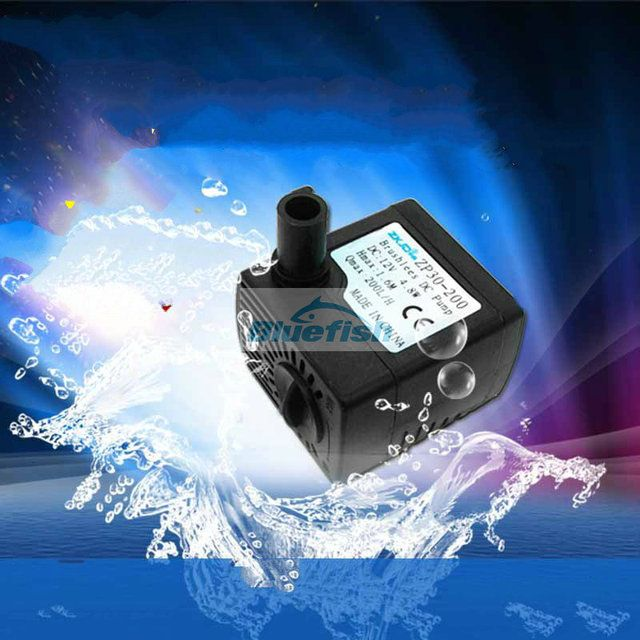 Flow 200 L/H 1.5 m 12 v pump tank circulation pump computer desktop fountain pump water pump