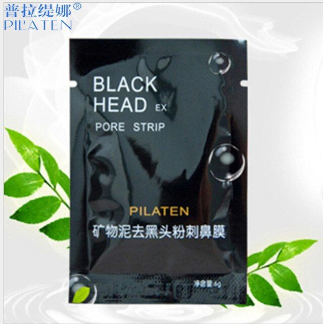1pcs Removedor De Cravo PILATEN Suction Black Mask Black Head Acne Treatment Deep Cleansing