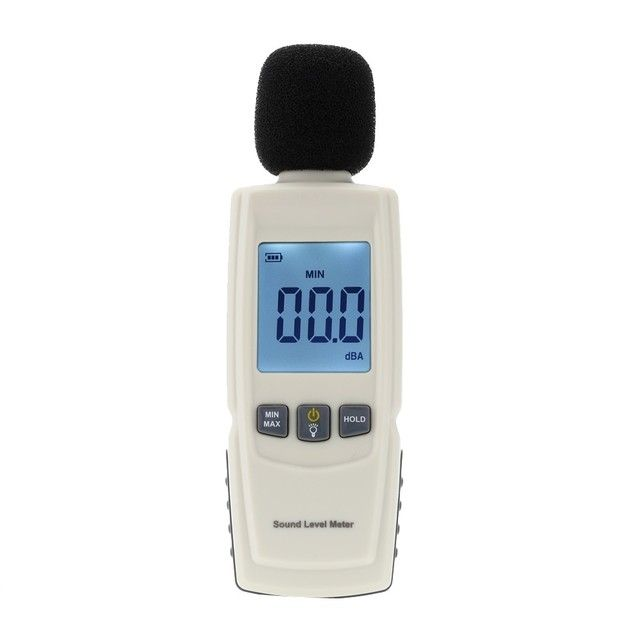 GM1352 Digital sound level meter noise tester 30-130dB in decibels LCD screen With backlight Accuracy up to 1.5dB Hot sale