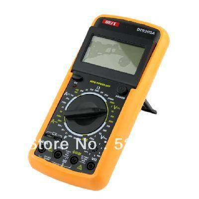 11PCS AC/DC DIGITAL CLAMP Multimeter Electronic Tester Meter DT9205M Multimeter