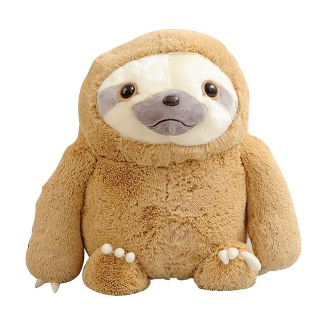 1pc 40cm New Crazy Animal City Cute Sloth The Anime Movie Zootopia Sloth Flash Stuffed Animals Cute Doll For Girl