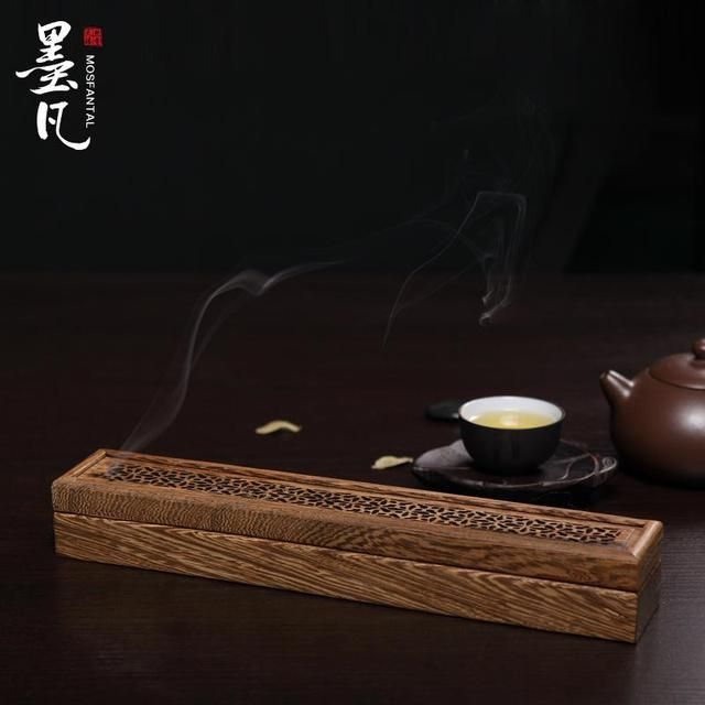 Chicken wing wood furnace aromatherapy incense fragrance incense stand natural mahogany bedroom incense box incense sandalwood
