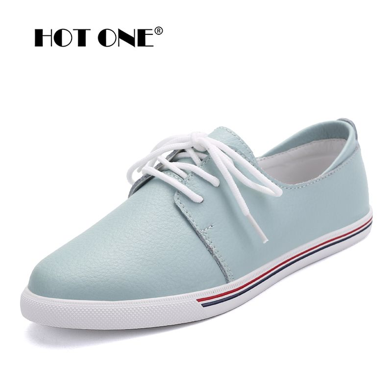 Women Flats oxfords Shoes Brand Women Casual Lace Up Leather Women Shoes 2017 Fashion Female White Shoes Ladies Flat Shoes F3168
