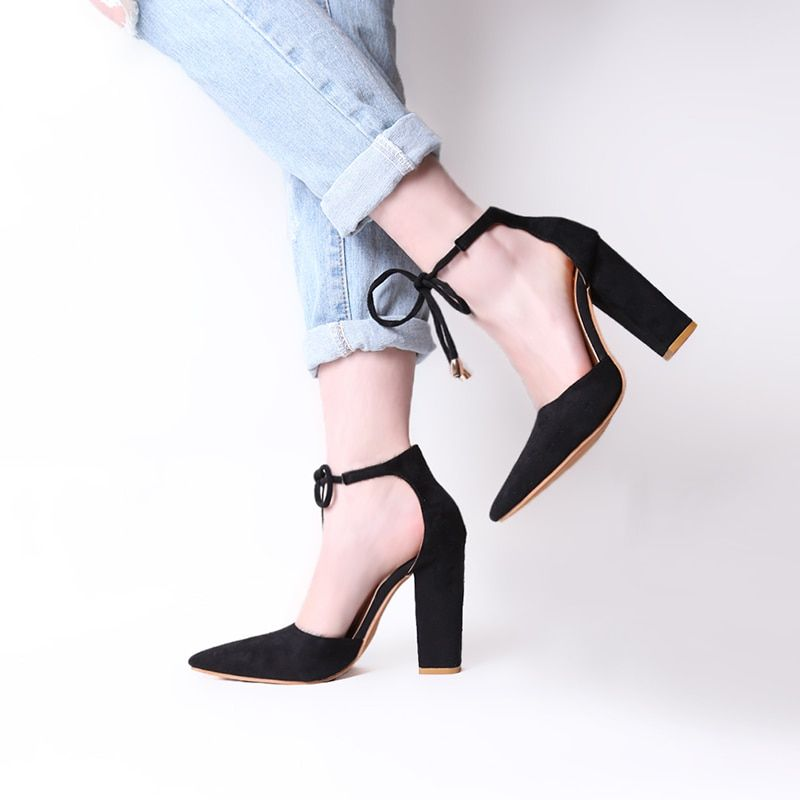 2108 New  Lace Up High Heels Women's Sandals Summer Shoes Woman Ladies Pumps Sexy Thin Air Heels Footwear Woman Shoes