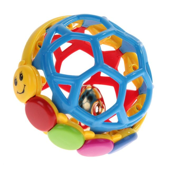Soft Educational Baby Rattle Toys Fun Little Loud Jingle Ball Develop Intelligence Training Grasping Ability Toy For Baby