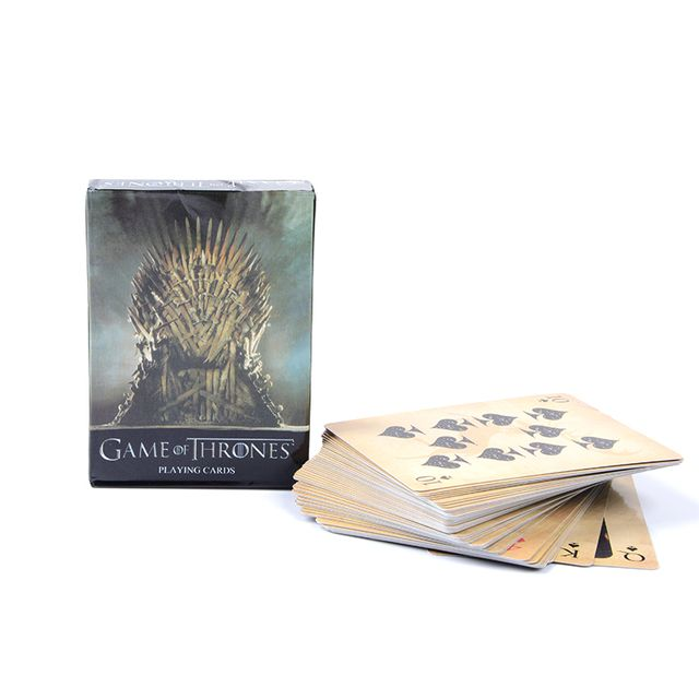 1 Set Anime Game of Thrones Game Collection Cards Paper Figure Toys For Gifts