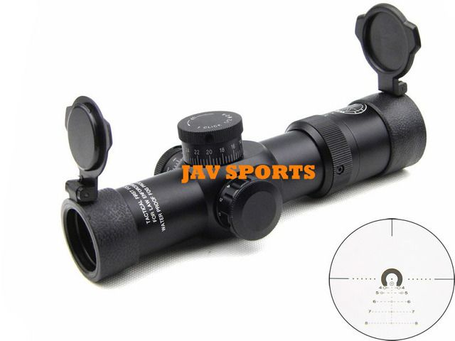 Tactical Riflescope 1-6x28 First Focal Plane Optics,N2,ASR,Heavy Duty Monotube Military Scope+Free shipping(SKU12020031)