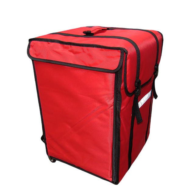 69L Insulated Pizza Bag Large Thermal Cooler Bag Food Container Refrigerated Incubator Hamburg Takeaway Cake Delivery Backpacks