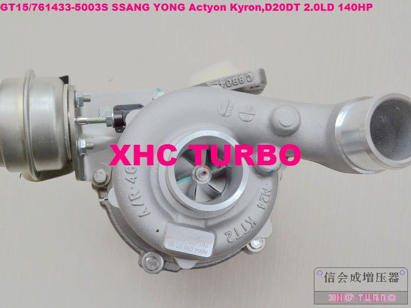 NEW GT15/761433-5003S A6640900880 Turbo Turbocharger for SSANG YONG Actyon Kyron,D20DT 2.0LD 140HP 06-