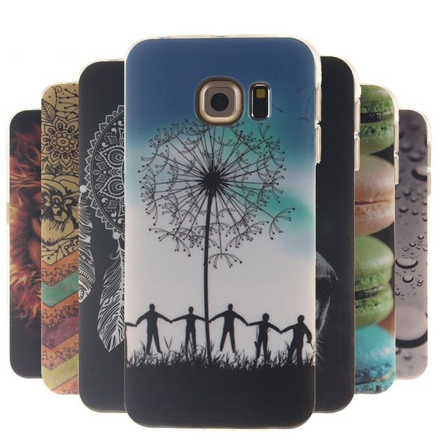 Luxury Cute TPU Case For Samsung Galaxy S6 G9200 G920 SM-G920f G920F SM-G9200 S 6 Duos Case Silicone Soft Phone Back Cover Skin
