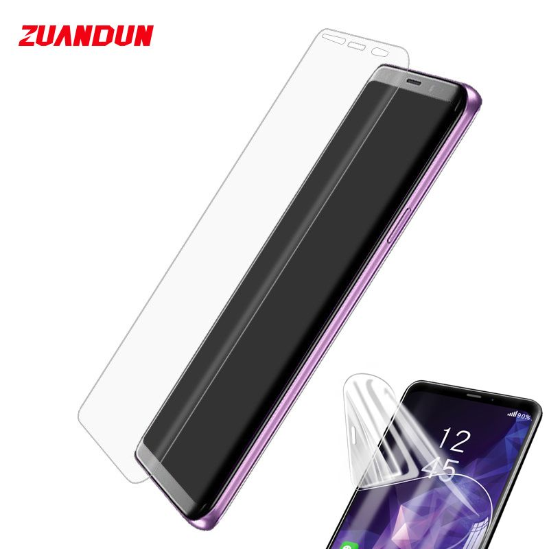 3D Soft Full Cover For Samsung Galaxy Note 9 S9 S9 Plus S8 Note 8 Screen Protector For Samsung S7 Edge S6 Edge Protective Film