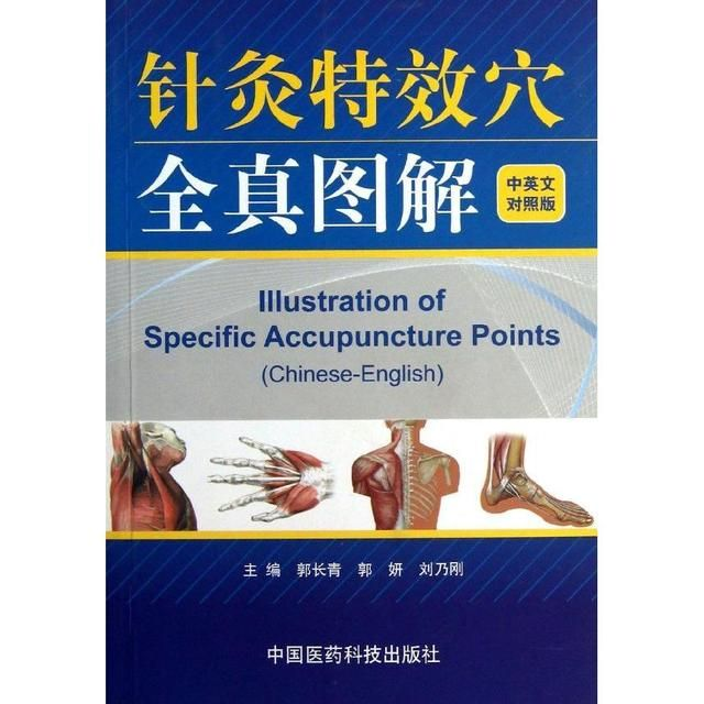 Chinese Acupuncture Book Illustration of Specific Acupuncture Points (Chinese-English) 145pages 18.4*12.8cm
