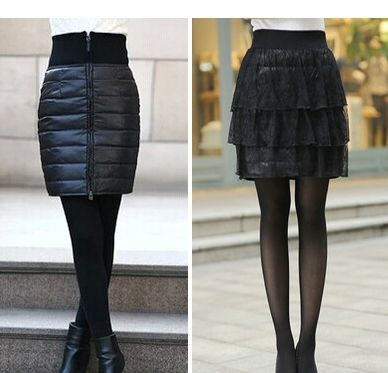Free shipping !!!Feather skirt leather skirt of new fund of 2015 autumn winters is female skirts package hip a-line skirt