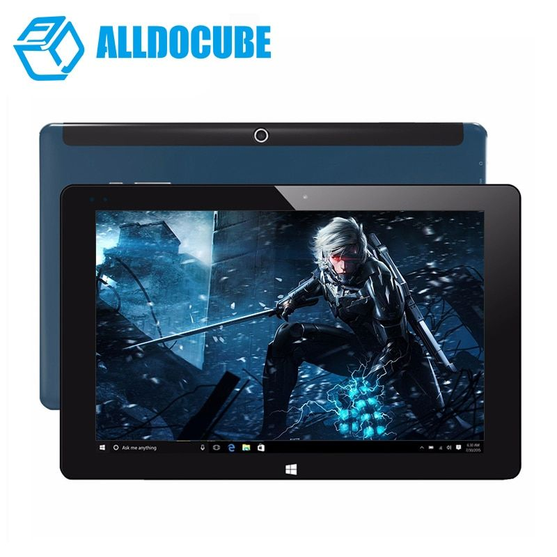 "ALLDOCUBE iwork10 Ultimate Dual Boot Windows10+Android 5.1 Tablet PC 10.1"" 1920*1200 IPS intel Atom x5-Z8350 Quad Core 4GB 64GB"
