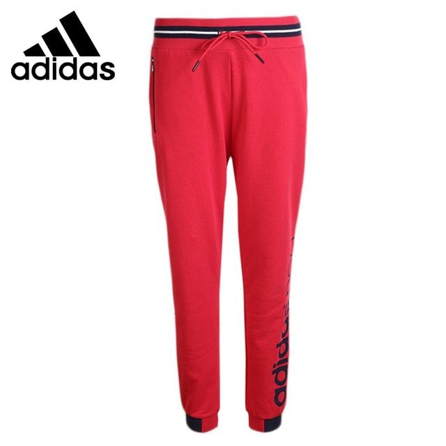 Original New Arrival  Adidas NEO Women's  Knitted Running Pants  Sportswear