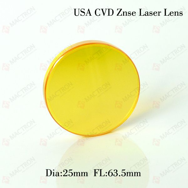 USA Laser Lens 25 mm Dia 63.5mm Focus Length Focus Lens For Laser Engraving Cutting Machine