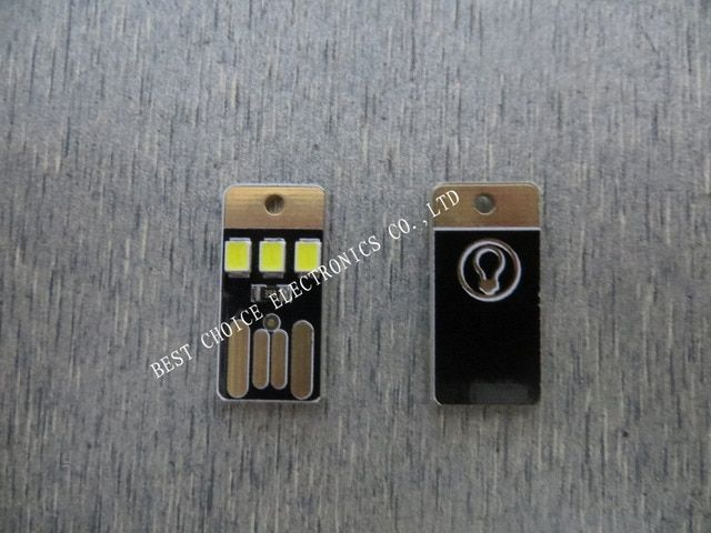 FREE SHIPPING  1PCS/LOT  Ultra-small ultra-thin mini USB lamp  usb led night  computer lamp