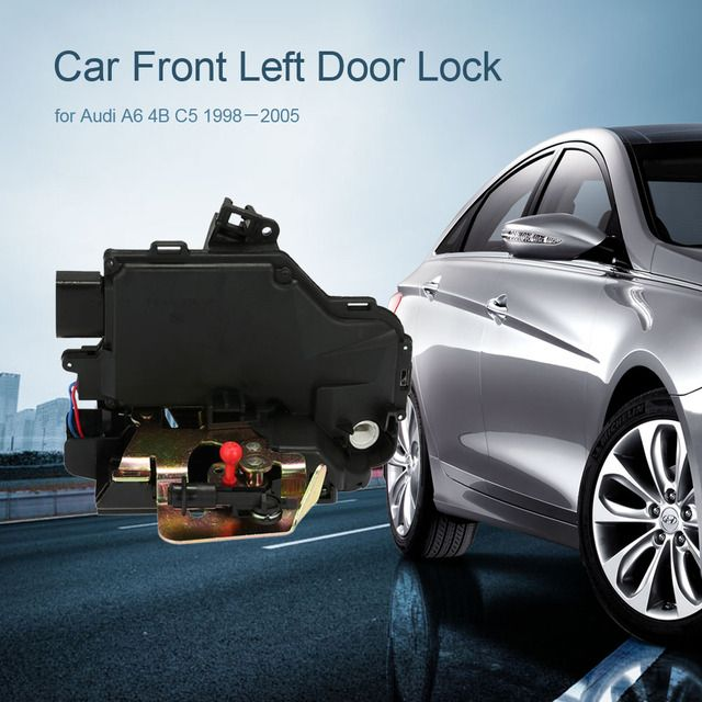 Professional Car Front Left Door Lock 4B1837015G for Audi A6 4B C5 1998-2005 Car Alarm System Accessories for Audi Car Style