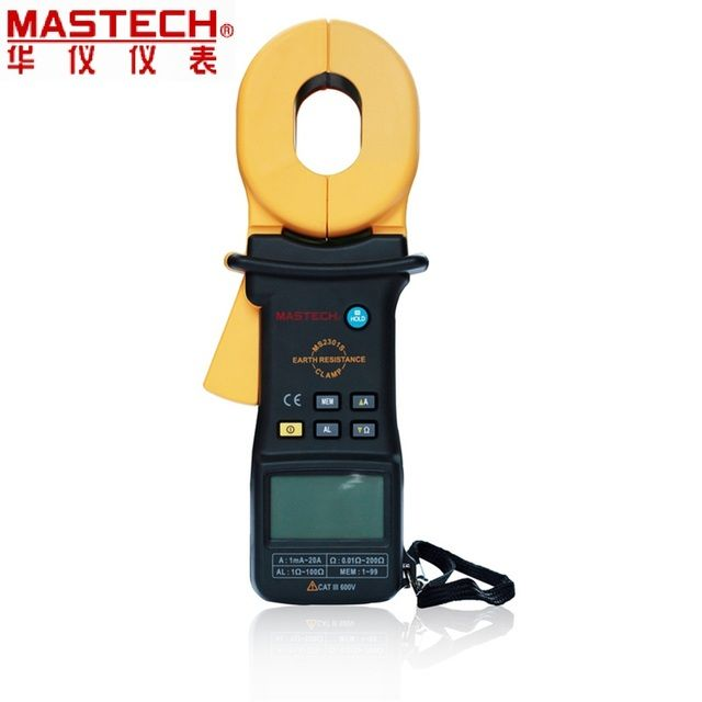 MASTECH MS2301S clamp grounded resister tester digital resistance Tester 0.001ohm high precision