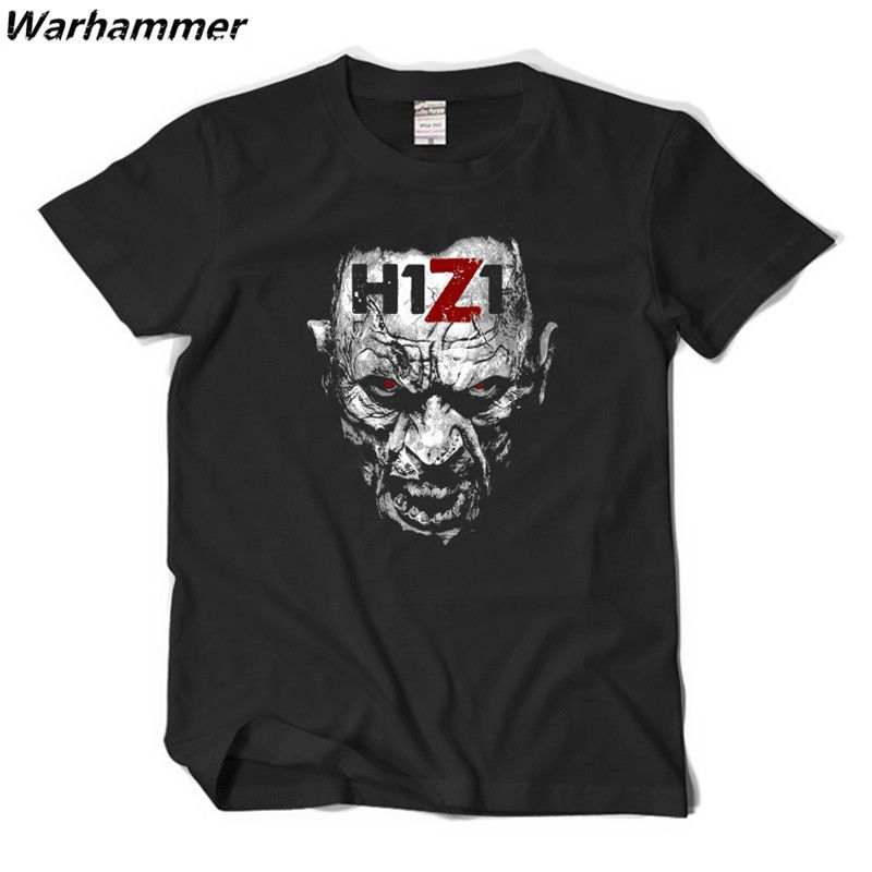 H1Z1 T shirt Men Game Style Dayz Day Survivor Stories Casual Fit Tee Shirt Homme Cotton Print Pattern O-neck Short Sleeve TShirt