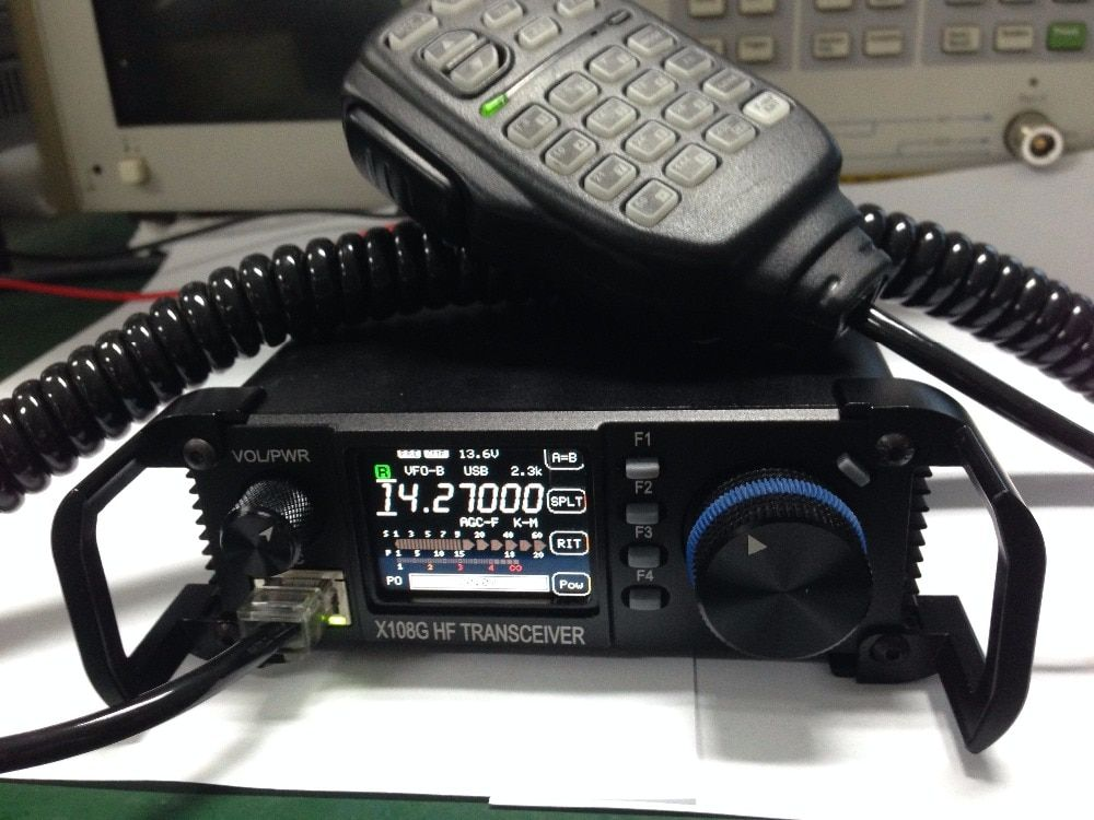 XIEGU X108G Outdoor Edition(X108's Upgraded Version) 0.5-30MHz 20W CB HF Amateur Ham Mobile Transceiver HF CB HAM Amateur Radio