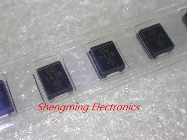 50PCS ES2G EG SMB 2A 400V DO-214AA Fast recovery diode
