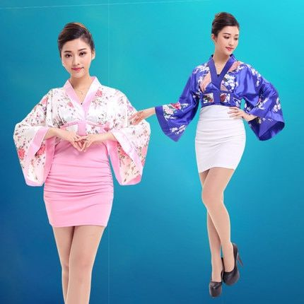 2014 Free Shipping New Design Women Sexy Japanese Traditional Kimonos Bodycon Dress With High Quality