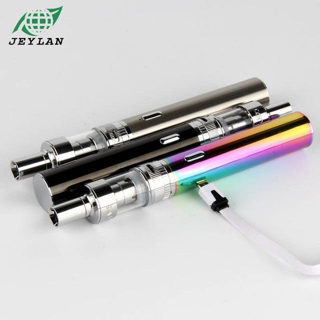 Original TVR Electronic Cigarette Starter kit Mod 30W 2200Mah Battery 1.6ml Top E-juice Filling E-Cigarette High Quality Manual