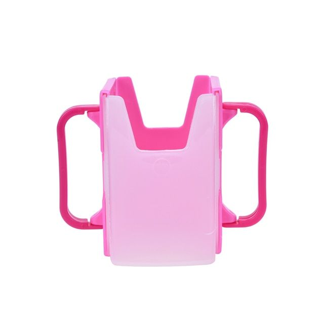 1PC New Plastic Safety Baby Toddler Kid Juice Milk Box Drinking Bottle Cup Holder Mug 2 Colors