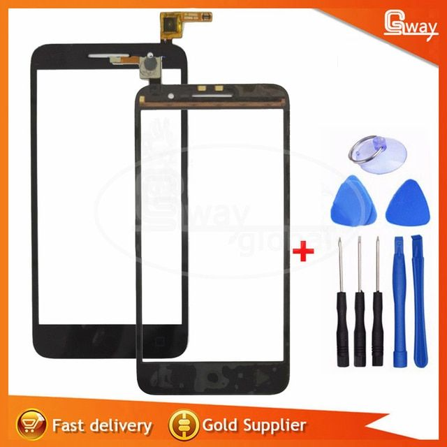 For Alcatel Vodafone Smart Prime 6 VF895 VF895N Black touch screen display +Tool Free shipping