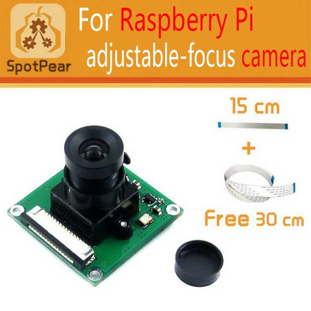 Raspberry Pi Camera module, better than the original one,5 megapixel OV5647 sensor in an adjustable-focus, free 30CM FFC