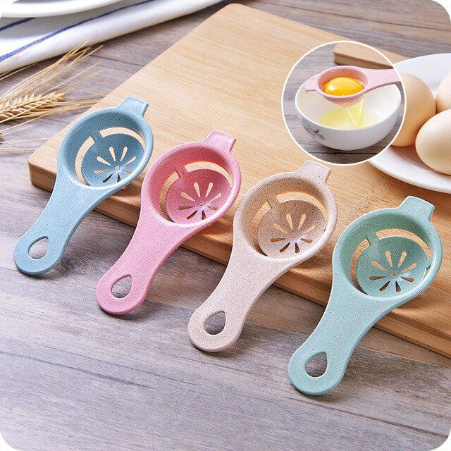 1pcs Creative Egg Yolk Separator Protein Separation Tool Food-grade Egg Separator Egg Tool Kitchen Tools Kitchen Gadgets Gadget